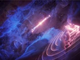 """从宇宙气云中检测到神秘的伽玛射线""""心跳"""""""